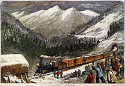 Destiny Prints - Chinese Labor: Railroad Print by Granger