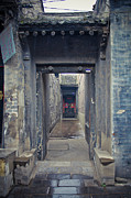 Doorway Posters - Chinese Style Old Doorway Poster by Eastphoto