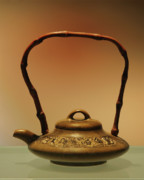 Antique Photo Originals - Chinese Teapot - A symbol in itself by Christine Till