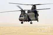Iraq War Posters - Chinook Cargo Helicopter Poster by DOD/Science Source
