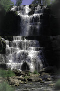 Sound Digital Art - Chittenango Falls by DigiArt Diaries by Vicky Browning
