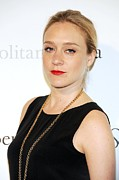 Updo Framed Prints - Chloe Sevigny At Arrivals Framed Print by Everett