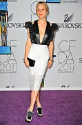 The 2011 Cfda Fashion Awards Framed Prints - Chloe Sevigny Wearing Chloe Sevigny Framed Print by Everett