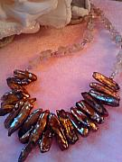 Fire Jewelry - Choco -Stix by Melanie A Leon