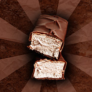 Chocolate Bars Print by HD Connelly