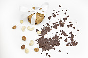 Nuts Prints - Chocolate biscuits Print by Joana Kruse