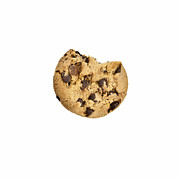 Biscuit Posters - Chocolate Chip Cookie Poster by Joana Kruse