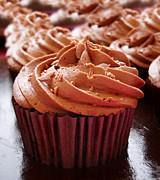 Chocolate Cupcakes Print by Jane Rix