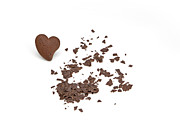 Tasty Photos - Chocolate heart by Joana Kruse