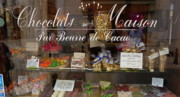 Store Fronts Prints - Chocolats Amboise France Print by Trent Saviers
