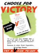 United States Government Posters - Choose For Victory  Poster by War Is Hell Store