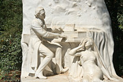 Frederic Chopin Art - Chopin monument II by Fabrizio Ruggeri