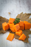 Chopped Photos - Chopped pumpkin by Sabino Parente
