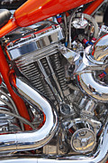 Chopper Framed Prints - Chopper Engine Framed Print by Paul W Faust -  Impressions of Light