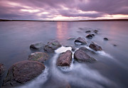 Halifax Photography Prints - Choppy Waters Print by Simon Higginbottom