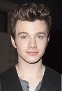 At Arrivals Posters - Chris Colfer At Arrivals For American Poster by Everett