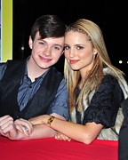 Music Time Posters - Chris Colfer, Dianna Agron At In-store Poster by Everett