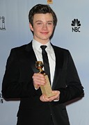 Award Prints - Chris Colfer In The Press Room For The Print by Everett
