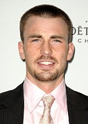 Elle Prints - Chris Evans At Arrivals For 15th Annual Print by Everett
