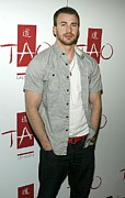 Jason Photo Acrylic Prints - Chris Evans At Arrivals For Tao Partner Acrylic Print by Everett