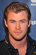 In Attendance Framed Prints - Chris Hemsworth In Attendance Framed Print by Everett