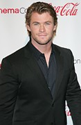 Red Carpet Prints - Chris Hemsworth In Attendance For 2011 Print by Everett