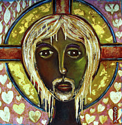 Orthodox Icons Paintings - Christ by Andrew Osta