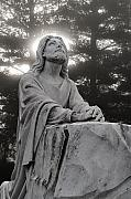 Jesus Photo Prints - Christ at Prayer Print by Robert  Suits Jr