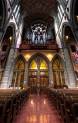 Anglican Photos - Christ Church Cathedral - Vertical Panorama by Matt Dobson