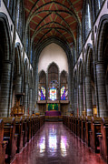 Anglican Prints - Christ Church Cathedral Print by Matt Dobson