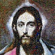 Jesus Digital Art Originals - Christ by Gilberto Viciedo