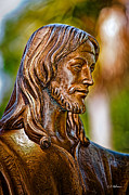 Augustine Metal Prints - Christ in Bronze Metal Print by Christopher Holmes