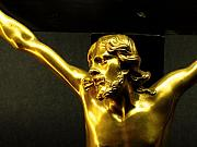 Gold - Christ of the Golden Body by Edan Chapman
