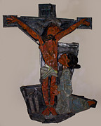 Christ Reliefs - Christ on the Cross by Jeevan  Lal MP