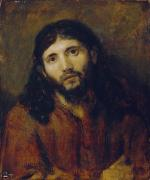 Jesus Photo Prints - Christ Print by Rembrandt Harmensz van Rijn