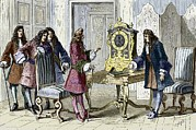 Astronomical Clock Framed Prints - Christiaan Huygens, Dutch Physicist Framed Print by Sheila Terry