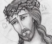 Christian Artwork Drawings - Christian Artwork by Dan Nita