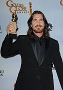 Award Posters - Christian Bale In The Press Room Poster by Everett