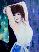 Posters Of Women Paintings - Christina by Lisa Rose Musselwhite