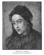 Rossetti Metal Prints - Christina Rossetti Metal Print by Granger