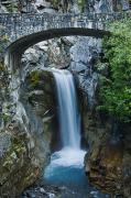 Mt Rainier Stream Framed Prints - Christine Falls Framed Print by Greg Vaughn - Printscapes