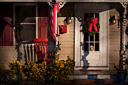 Doggy Framed Prints - Christmas - Clinton NJ - How much is that doggy in the window Framed Print by Mike Savad