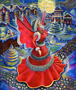 Jacquelin Vanderwood - Christmas Angel in Red...