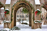 Christopher Arndt Metal Prints - Christmas Arch Metal Print by Christopher Arndt