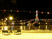 Rink Photos - Christmas at the Anaconda Commons by Katie LaSalle-Lowery