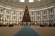 West Baden Prints - Christmas at West Baden Print by Sandy Keeton