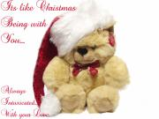 Love - Christmas Bear Intoxicated with your love by Dawn Hay