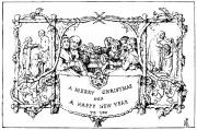 1843 Framed Prints - Christmas Card, 1843 Framed Print by Granger