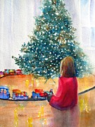 Winter Paintings - Christmas by Carlin Blahnik