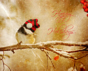 Kelly Nelson - Christmas Chickadee.